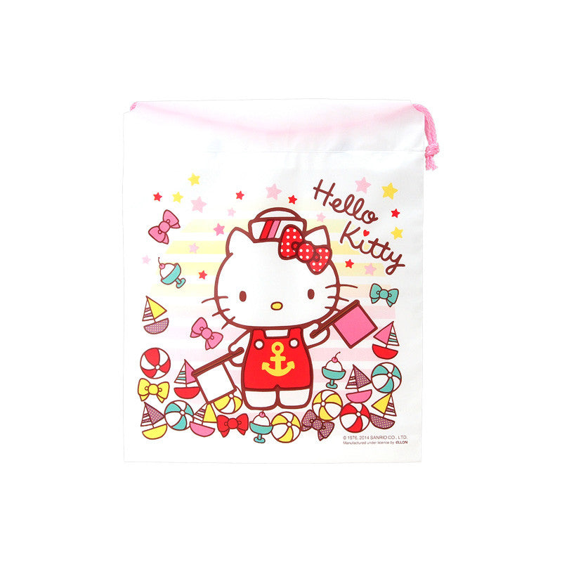 Hello Kitty Drawstring Bag 索繩袋