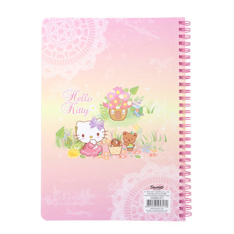 Hello Kitty Wire-O Notebook 線圈簿