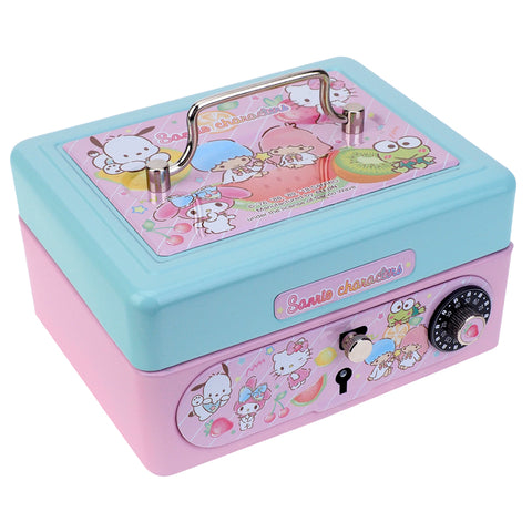 Mix Characters Metal Cash Box with Dial Lock & Key (S) 夾萬連密碼鎖及鎖匙(細)
