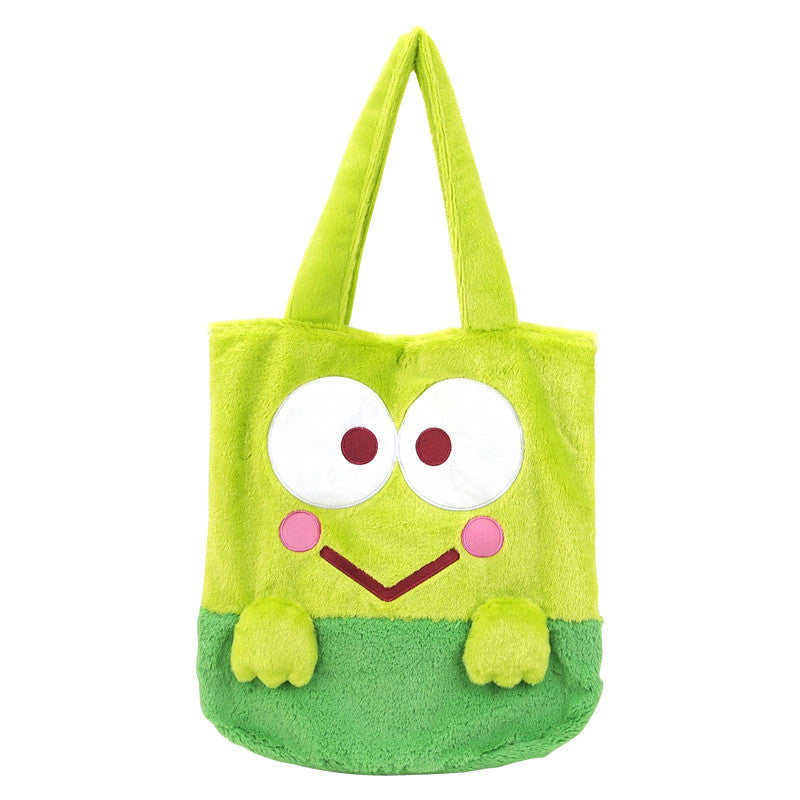 Kerokerokeroppi Plush Tote Bag 毛絨手挽袋