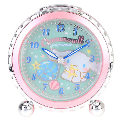 Cinnamoroll Round Sharp Alarm Clock 鬧鐘