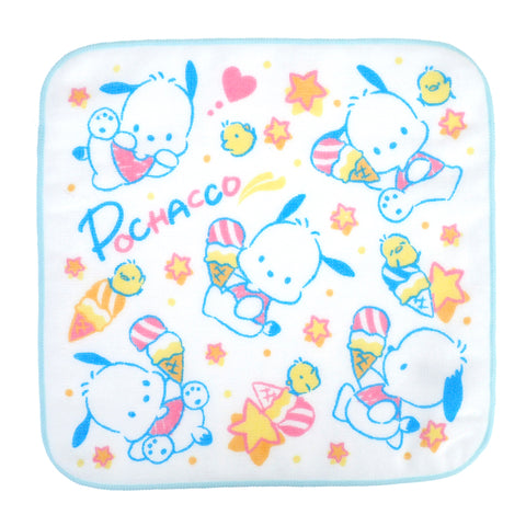 Pochacco Towel Set (2 Pcs/Pack) 純棉紗布方巾(2條裝)