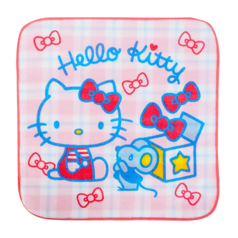 Hello Kitty Towel Set (2 Pcs/Pack) 純棉紗布方巾(2條裝)
