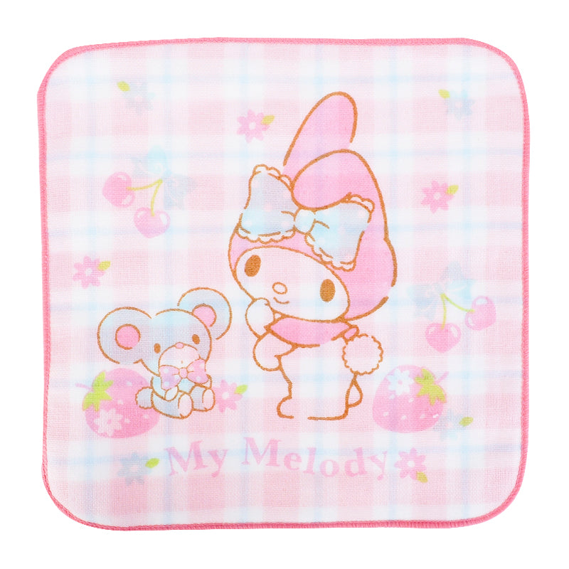 My Melody Towel Set (2 Pcs/Pack) 純棉紗布方巾(2條裝)