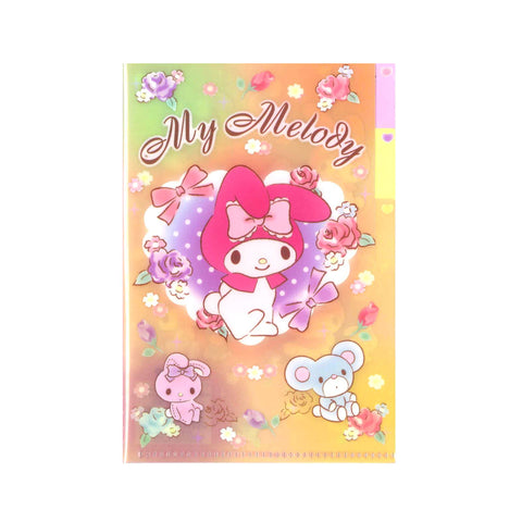 My Melody PP Mini File Index 迷你索引文件夾