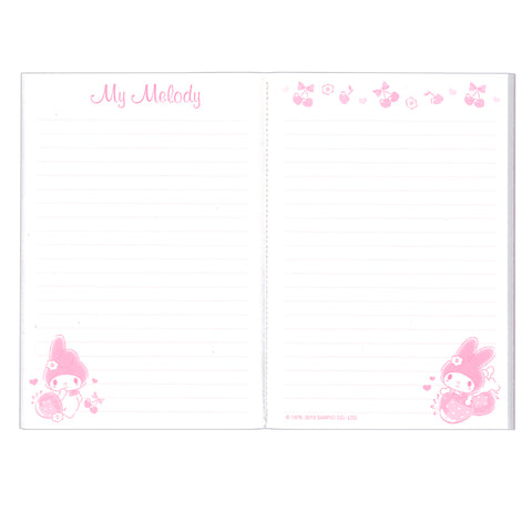 My Melody PP Cover Notebook PP面單行簿