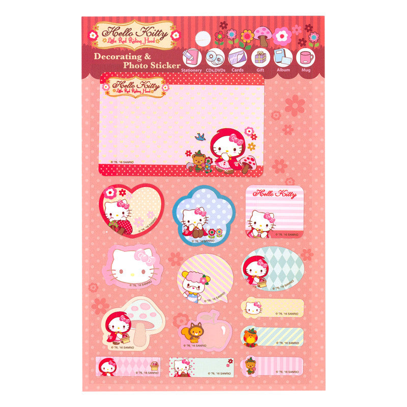 Hello Kitty Decorating Photo Sticker 防水貼紙