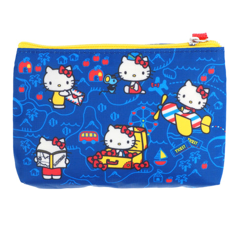 Hello Kitty Two Zip Pouch 雙層小袋
