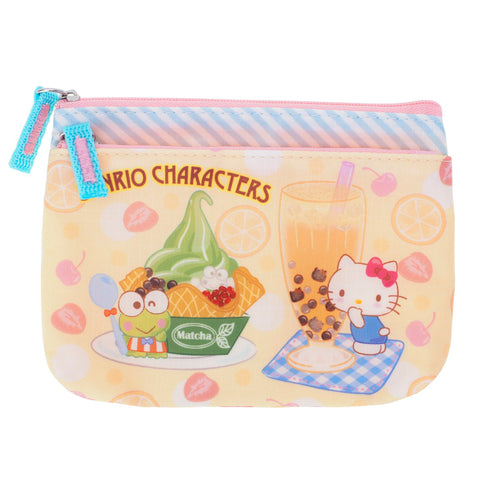 Mix Characters Two Zip Pouch 雙層小袋