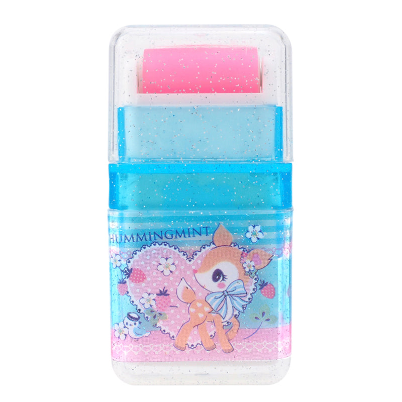 Hummingmint PVC Free Eraser With Roller Cleaner 擦膠附帶滾輪 (不含塑化劑)