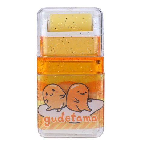 Gudetama PVC Free Eraser With Roller Cleaner 擦膠附帶滾輪 (不含塑化劑)