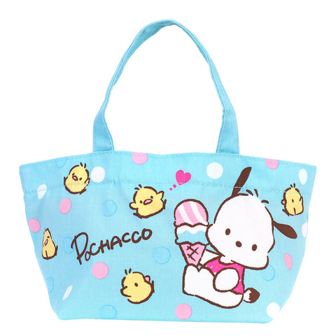 Pochacco Cotton Drawstring Lunch Bag 棉布索繩午餐袋