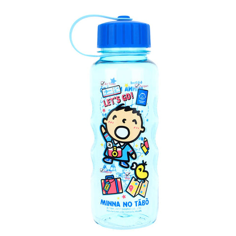 Minna No Tabo 650ml Water Bottle 膠水樽