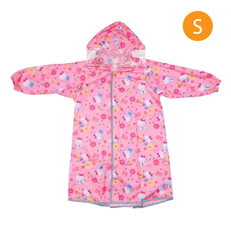 Hello Kitty Kid's Long-Sleeved Raincoat (S) 小童長袖雨衣-細碼