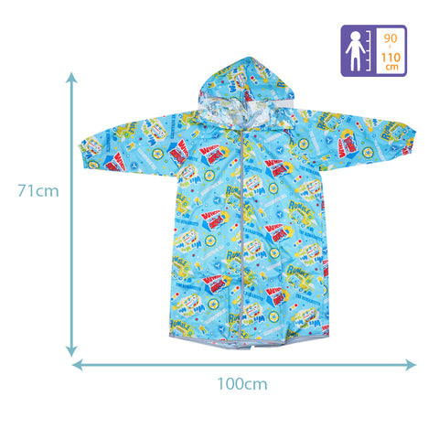 The Runabouts Kid's Long-Sleeved Raincoat (S) 小童長袖雨衣-細碼