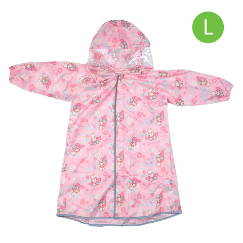 My Melody Kid's Long-Sleeved Raincoat (L) 小童長袖雨衣-大碼