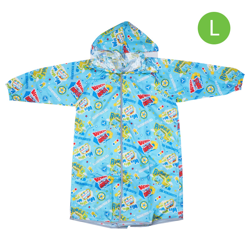 The Runabouts Kid's Long-Sleeved Raincoat (L) 小童長袖雨衣-大碼