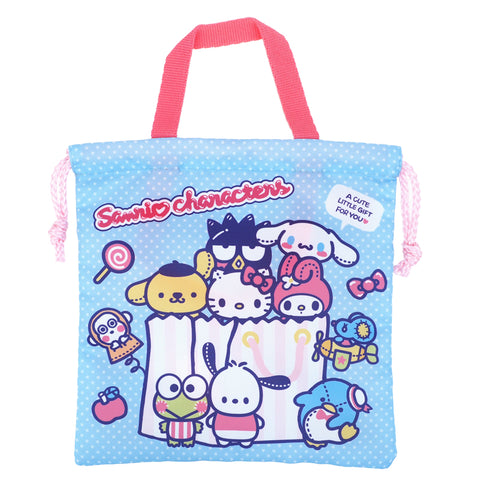 Mix Characters Drawstring Bag (S) 索繩袋 (細)