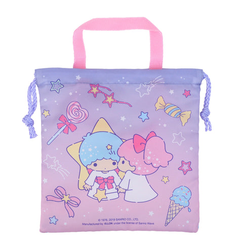 Little Twin Stars Drawstring Bag (S) 索繩袋 (細)