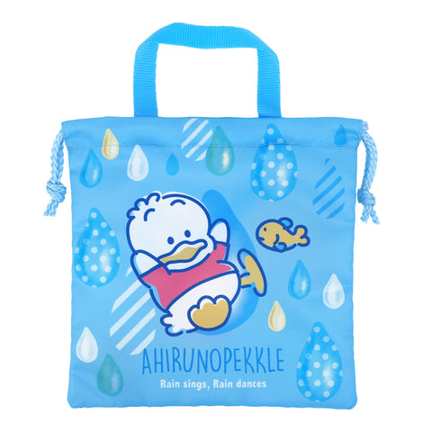 Ahiru No Pekkle Drawstring Bag (S) 索繩袋 (細)