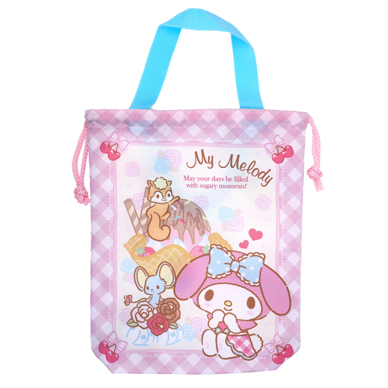 My Melody Drawstring Bag (M) 索繩袋 (中)