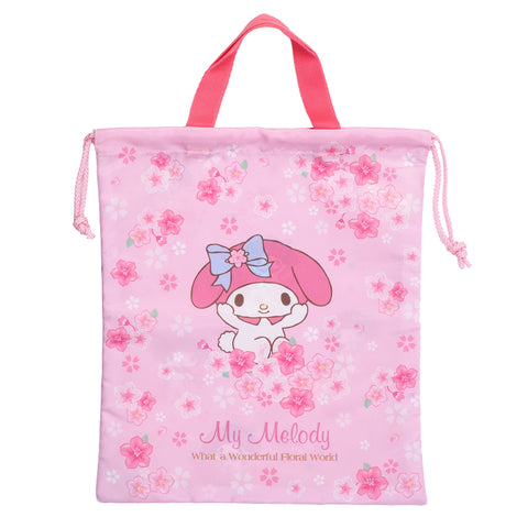 My Melody Drawstring Bag (L) 索繩袋 (大)