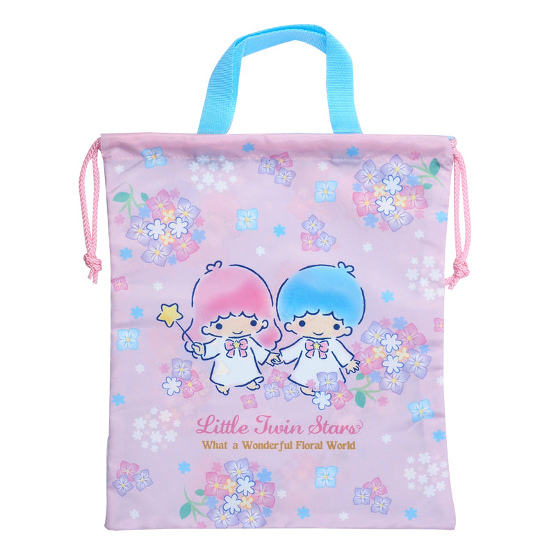 Little Twin Stars Drawstring Bag (L) 索繩袋 (大)