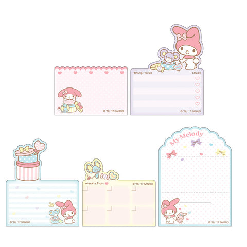 My Melody Memo Pad Set 便條紙套裝
