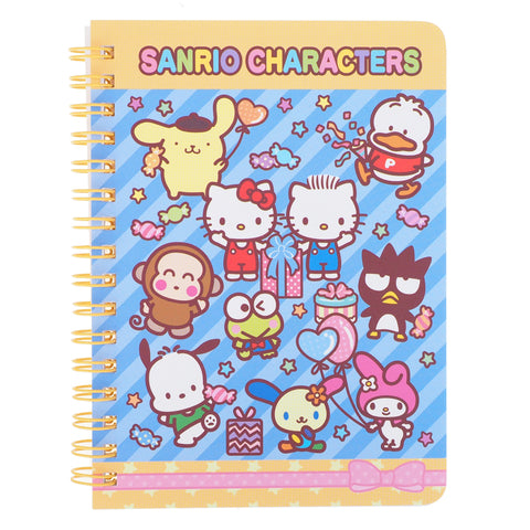 Mix Characters Mini Wire-O Notebook 線圈簿