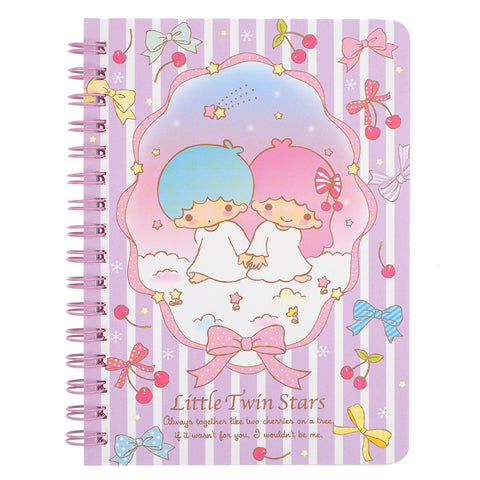 Little Twin Stars Mini Wire-O Notebook 線圈簿