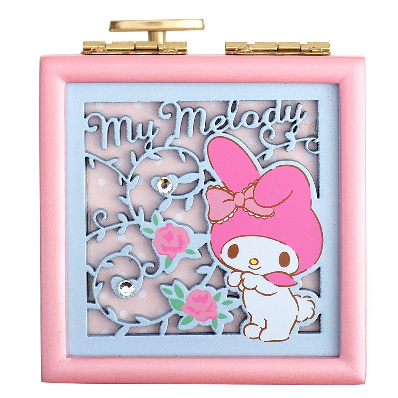 My Melody Wooden Musical Jewellery Box 木製音樂首飾盒