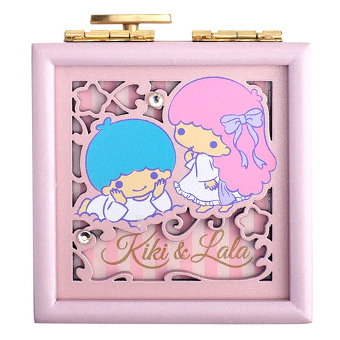Little Twin Stars Wooden Musical Jewellery Box 木製音樂首飾盒