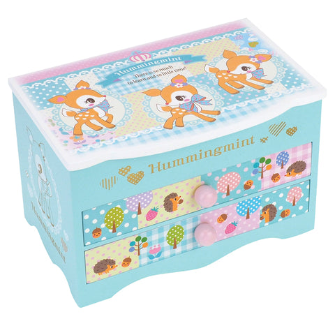 Hummingmint Wooden Musical Jewellery Box 首飾音樂盒