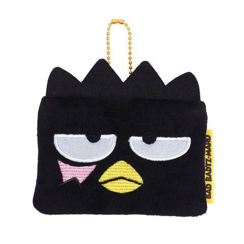 XO Plush Coin Pouch with Card Slot 毛絨小袋連插格