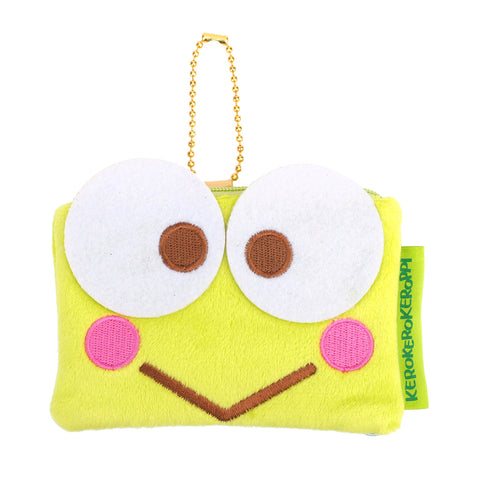 Kerokerokeroppi Plush Coin Pouch with Card Slot 毛絨小袋連插格