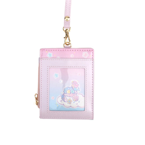 Little Twin Stars PU Card Holder W/ Neck Strap 証件套連頸繩