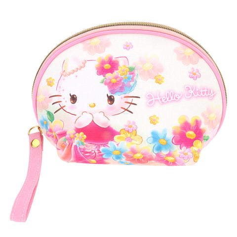 Hello Kitty Canvas Cosmetic Bag 帆布化妝袋