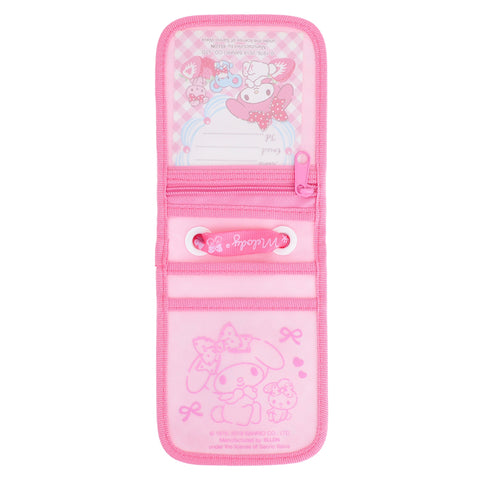 My Melody Laminated Fabric Card Holder 証件套