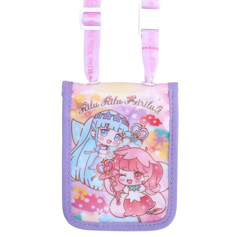 Rilu Rili Fairilu Laminated Fabric Card Holder with Neck Strap 証件套連頸繩
