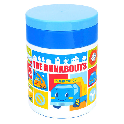 The Runabouts Stainless Steel Vacuum Food Jar 不銹鋼真空保溫壺
