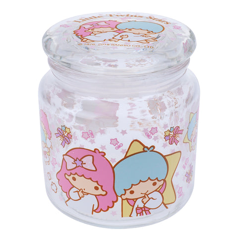 Little Twin Stars 480ml Glass Storage Jar 玻璃儲物樽