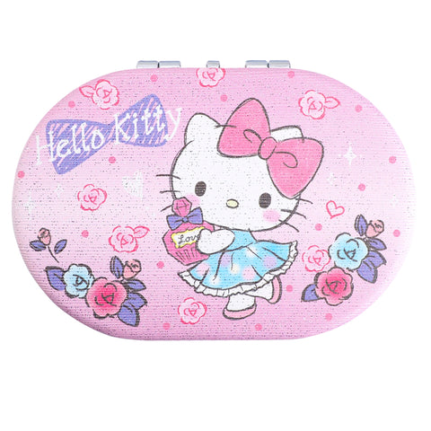 Hello Kitty Double Sided Compact Mirror 橢圓形隨身鏡