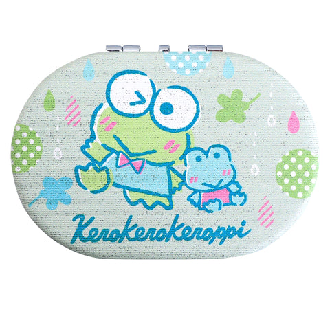 Kerokerokeroppi Double Sided Compact Mirror 橢圓形隨身鏡