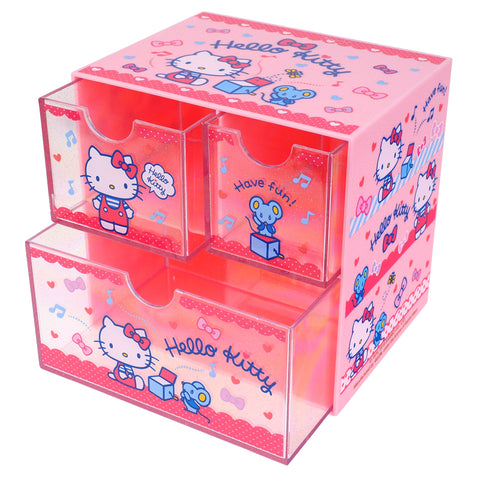 Hello Kitty Plastic Storage Box 塑膠儲物盒