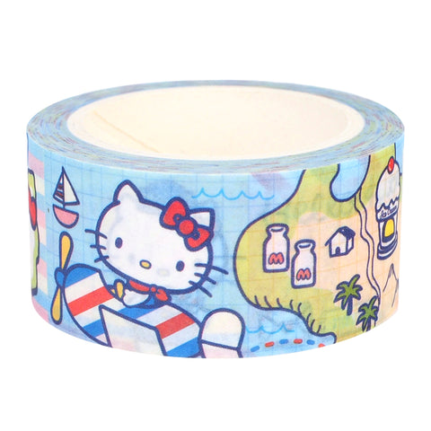 Hello Kitty Masking Tape Set (Set of 2 Rolls) 紙膠帶 (一套兩卷)
