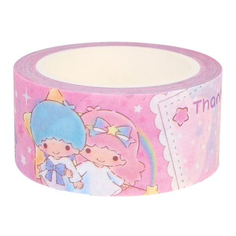 Little Twin Stars Masking Tape Set (Set of 2 Rolls) 紙膠帶 (一套兩卷)