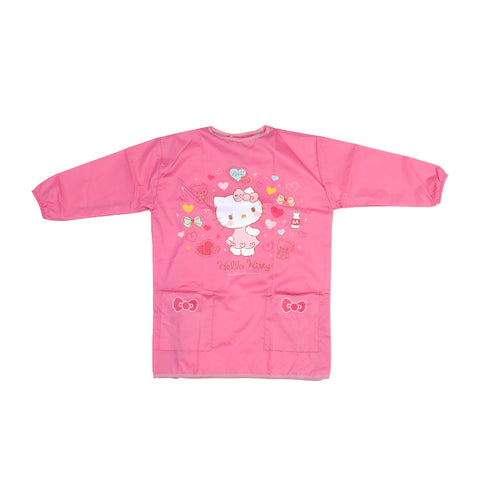 Hello Kitty Kid's Pinafore with Pocket - M size 小童圍裙-中碼
