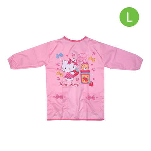 Hello Kitty Kid's Pinafore with Pocket - L size 小童圍裙-大碼