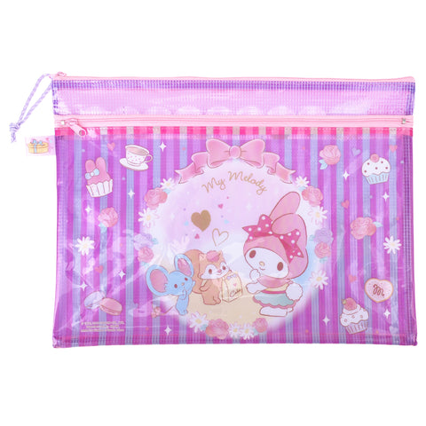 My Melody PVC Mesh Bag (Large Size) 文件袋 (大)
