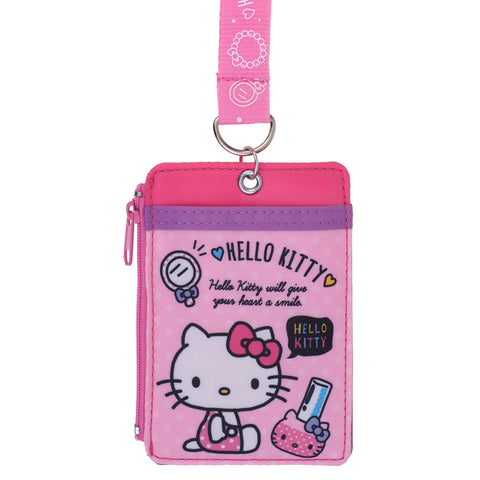 Hello Kitty Card Holder with Neck Strap 証件套連頸繩